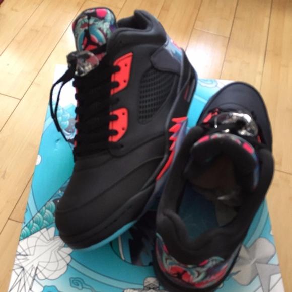 e075f4bbee47 Nike Air Jordan 5 Low CNY